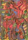 Dios de Horus stock de ilustración