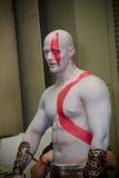 Dios de la guerra Kratos en Baltimore Comicon Imágenes de archivo libres de regalías