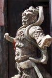 Dios de la puerta de China. Foto de archivo
