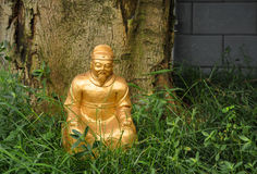 Dios de la riqueza en China Fotos de archivo libres de regalías
