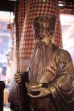 dios de la riqueza en templo de la tierra Fotos de archivo libres de regalías