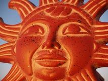 Dios de Sun en el cielo Foto de archivo libre de regalías