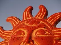 Dios de Sun que se levanta en el cielo Foto de archivo libre de regalías