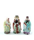 Dios de tres chinos Imágenes de archivo libres de regalías