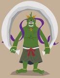 Dios del viento libre illustration