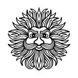 Dios del viento ilustración del vector