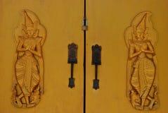 Dios dos es en centinela la puerta Foto de archivo libre de regalías