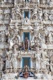 Dios en un templo, Rajasthán, la India de Hindus Fotos de archivo