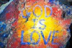 Dios es amor Fotos de archivo libres de regalías