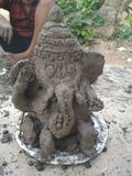Dios Ganesh imagen de archivo libre de regalías