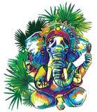 Dios Ganesh Dios Ganesh impresi?n libre illustration