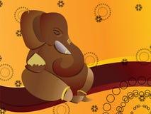 Dios hindú Ganesh stock de ilustración