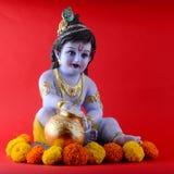 Dios hindú Krishna Imagen de archivo