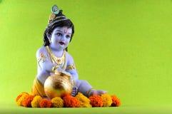Dios hindú Krishna Foto de archivo libre de regalías