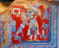 Dios mexicano prehistórico Fotografía de archivo