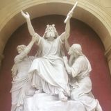 Dios nos bendice foto de archivo libre de regalías