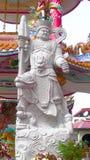 Dios tallado de piedra del granito imagen de archivo