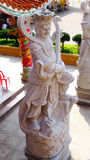 Dios tallado de piedra del granito Imagen de archivo libre de regalías