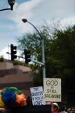 Dios todavía está hablando Fotos de archivo libres de regalías