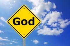 Dios y cielo Imagen de archivo libre de regalías