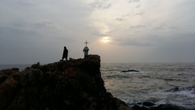Dios y yo Fotografía de archivo libre de regalías