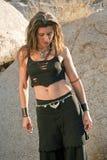 Diosa 3 del desierto Foto de archivo libre de regalías