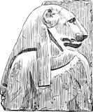 Diosa Bastet Fotografía de archivo libre de regalías