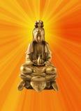 Diosa budista fotografía de archivo libre de regalías