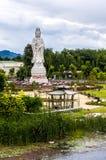 Diosa de Kuang Im de la misericordia Imagen de archivo