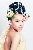 Diosa de la flor Imagen de archivo libre de regalías