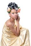 Diosa de oro Foto de archivo libre de regalías