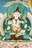 Diosa de Tibetian foto de archivo