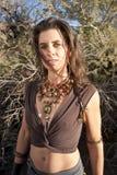 Diosa del desierto Fotos de archivo