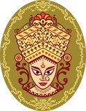 Diosa del indio de Durga Imagen de archivo