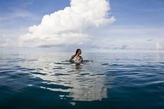 Diosa del mar Imágenes de archivo libres de regalías