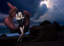 Diosa del viento Fotos de archivo libres de regalías