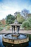 Diosa Diana de la fuente fotografía de archivo libre de regalías