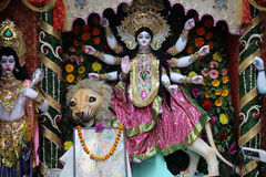 Diosa Durga imagen de archivo