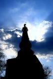 Diosa en el cielo fotos de archivo libres de regalías