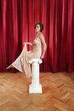Diosa griega foto de archivo