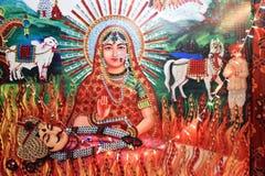 Diosa hindú foto de archivo libre de regalías