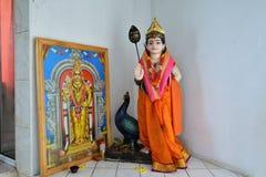 Diosa hindú Posts de Flacq, Mauricio fotos de archivo