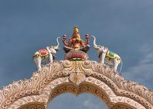 Diosa Lakshmi en Sripuram, Vellore. Fotos de archivo libres de regalías