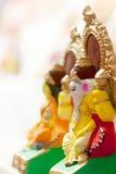 Diosa Lakshmi y Lord Ganesha en Dewali Fotografía de archivo