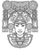 Diosa pagana Imagen de archivo libre de regalías