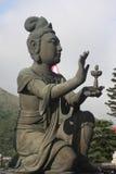 Diosa que ofrece en Tian Tan Buddha Imagen de archivo