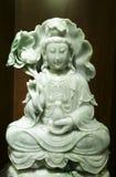 Diosa verde del jade Imagen de archivo libre de regalías