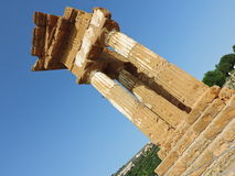 Dioscuri temple Stock Photography