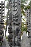 Dioses de Tiki Imagenes de archivo