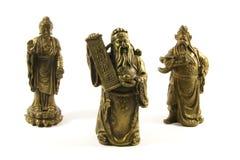 Dioses y deidades del chino tradicional imágenes de archivo libres de regalías